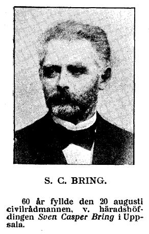 Sven Casper Bring 1902